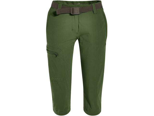 Maier Sports Inara Slim 3/4 Housut Naiset, bronze green